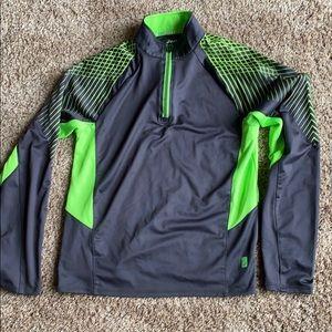 Boys ASICS 1/4 Zip Pullover Size L (14-16)